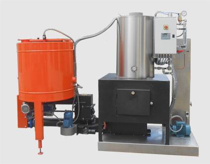 Generatore di vapore a biomassa - Cippato